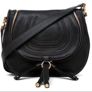 Chloe Marcie Medium Double Zip Messenger Bag